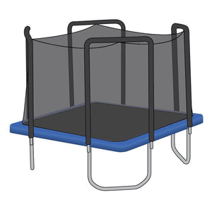 Skybound 13 Ft. Trampoline Net Attaches With Straps - Fits Skywalker - Trampoline Replacements