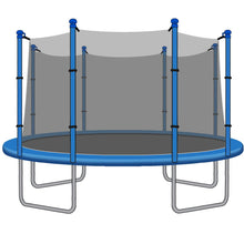 SkyBound 14 Foot Trampoline Net - Fits 14 Foot Frames with 8 Straight Enclosure Poles or 4 Arches - Trampoline Replacements