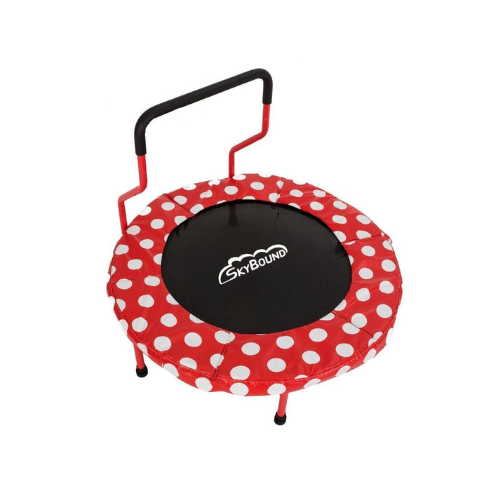SkyBound 40 Childrens Trampoline - FJ-4035 Red OR Blue - Red - Mini Trampolines