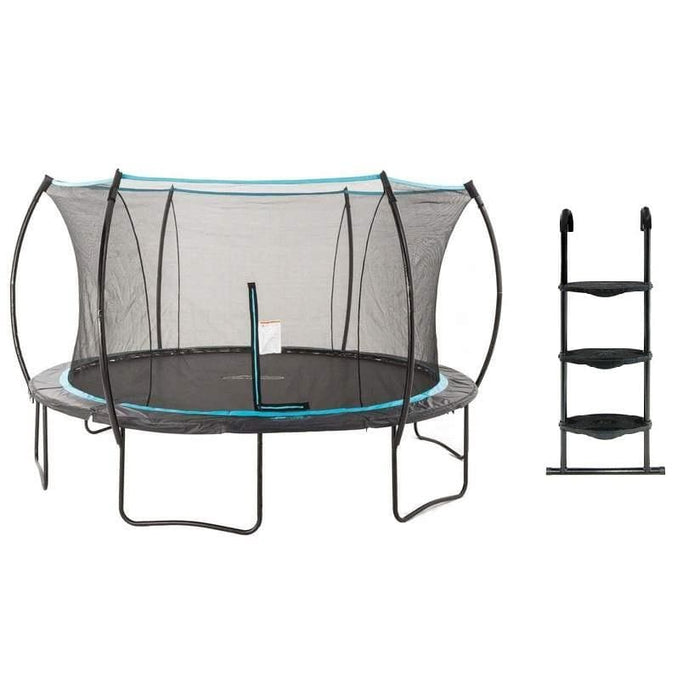 SkyBound Cirrus 14ft Trampoline with Top Ring Enclosure - SB-T14CIR02 - Round Trampolines