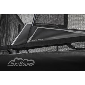Skybound EXPLORER 16FT Oval Trampoline With Safety Enclosure System - Oval Trampolines