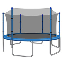 SkyBound Replacement Net for 15ft Trampolines - Fits 6 Straight Poles (Using Bolted Pole Caps) - Trampoline Replacements