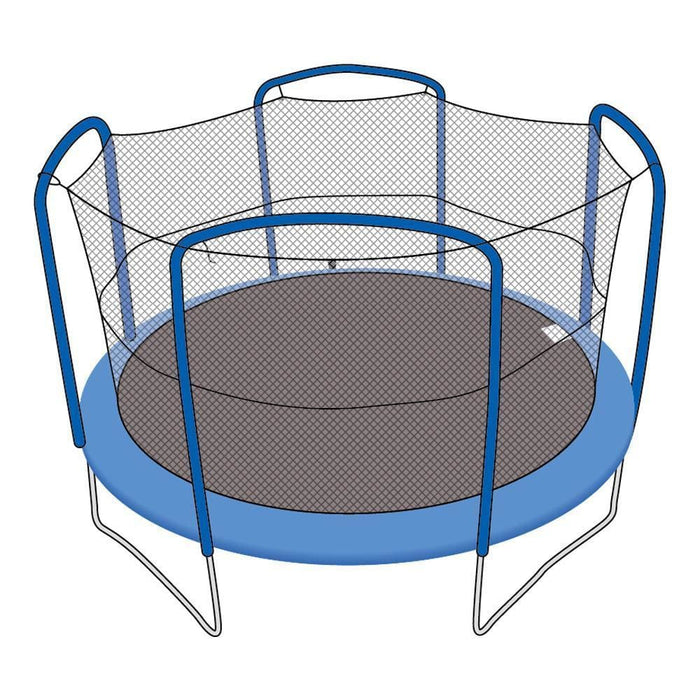 Skybound Trampoline Net Fits Round 15 Ft. Frames Fits 4 Arch Poles - Trampoline Replacements