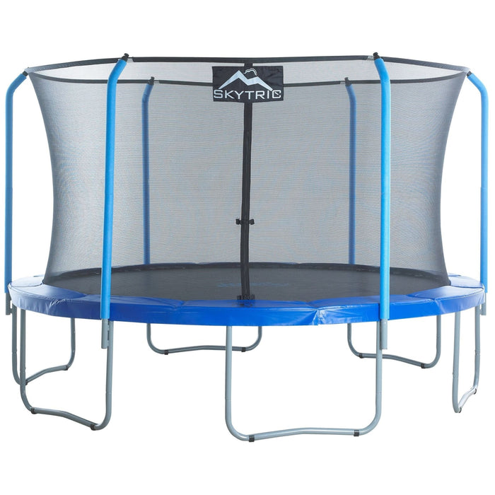 Skytric 13 Ft Trampoline W/ Top Ring Enclosure System - Ubsf02-13 - Trampolines