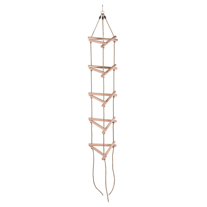 Swingan - 6 Steps Triangle Climbing Rope Ladder - Fully Assembled - Sw-Wlrt - Swings & Accessories