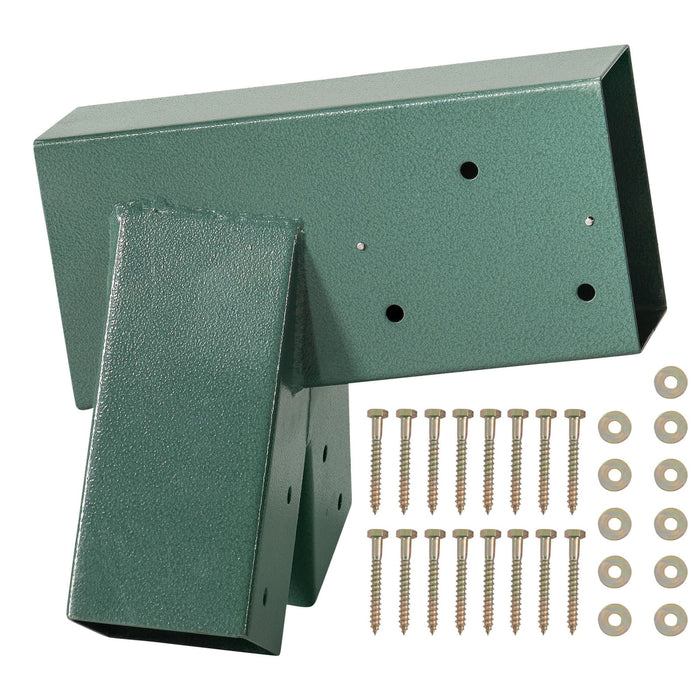 Swingan - A-Frame Bracket - Green Powder Coating - Bolts Included - Swhwd-Asb - Swings & Accessories