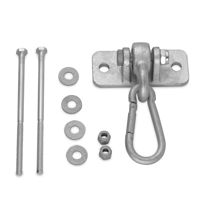 Swingan - Heavy Duty Swing Hanger With 4 Snap Hook - Incl. Mounting Hardware - Swhwd-Hs - Swings & Accessories