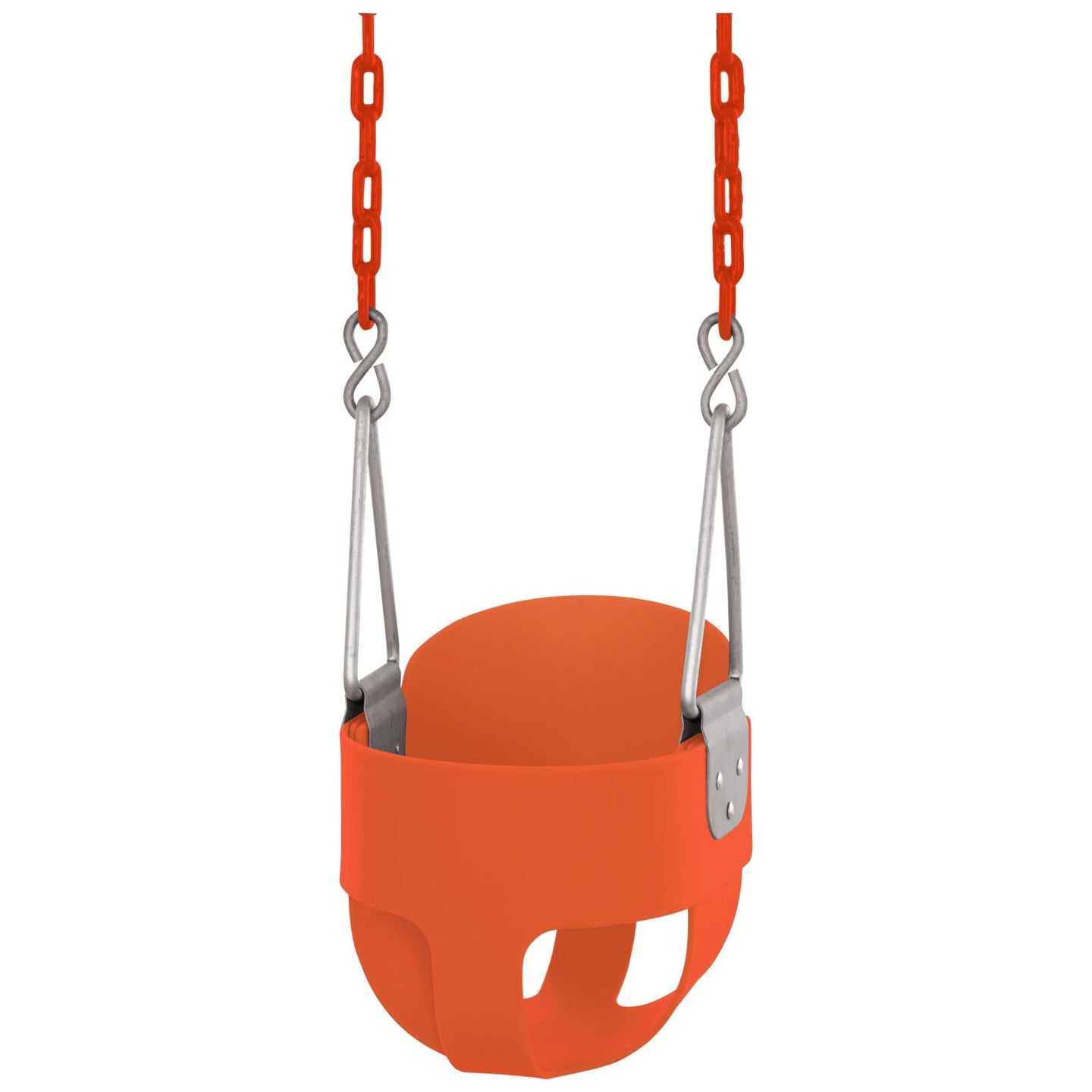 Swingan - High Back Full Bucket Toddler & Baby Swing - Orange - Swbsc-Or - Swings & Accessories