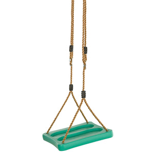 Swingan - One Of A Kind Standing Swing With Adjustable Ropes - Green - SWSSR-GN - Swings & Accessories