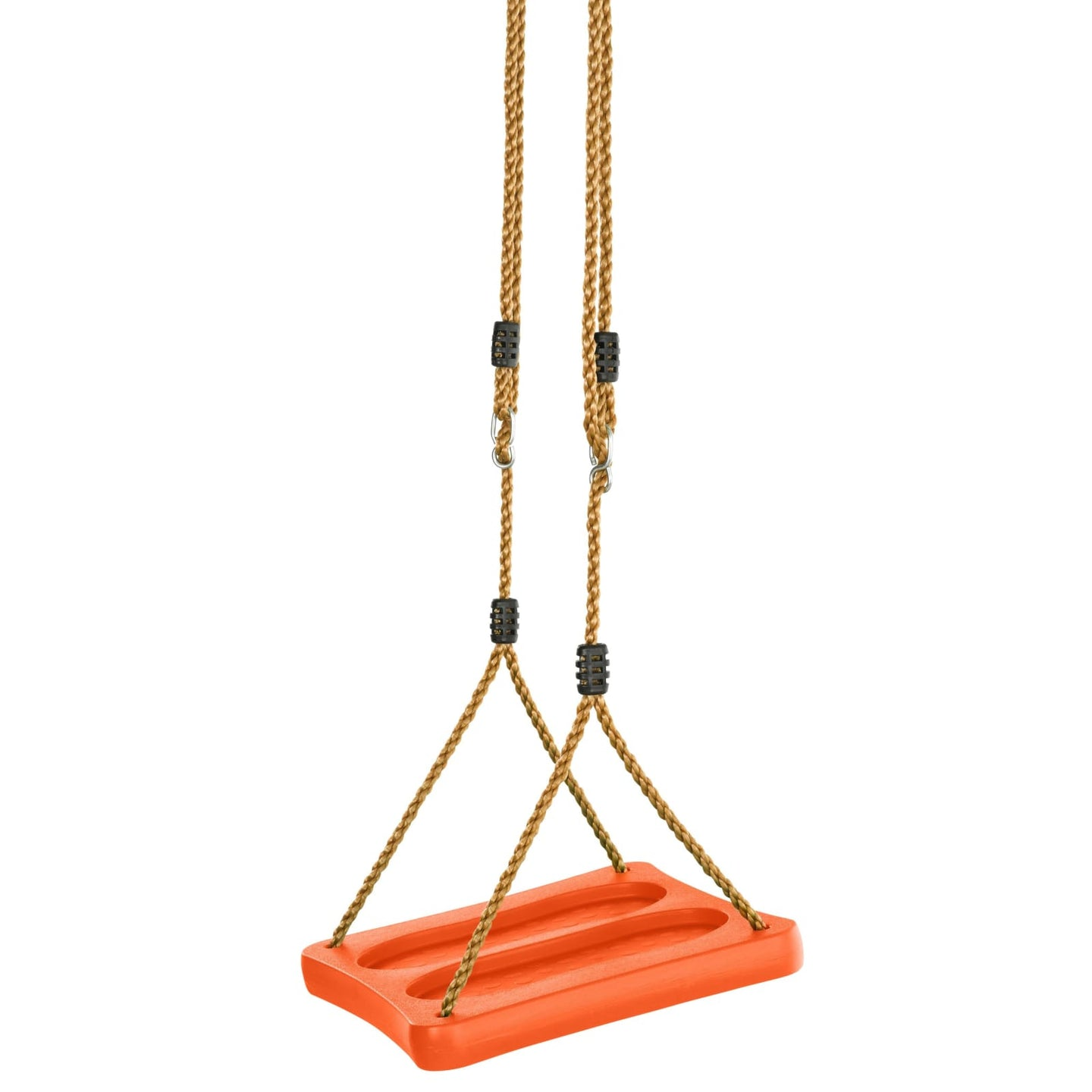 Swingan - One Of A Kind Standing Swing With Adjustable Ropes - Orange - Swssr-Or - Swings & Accessories