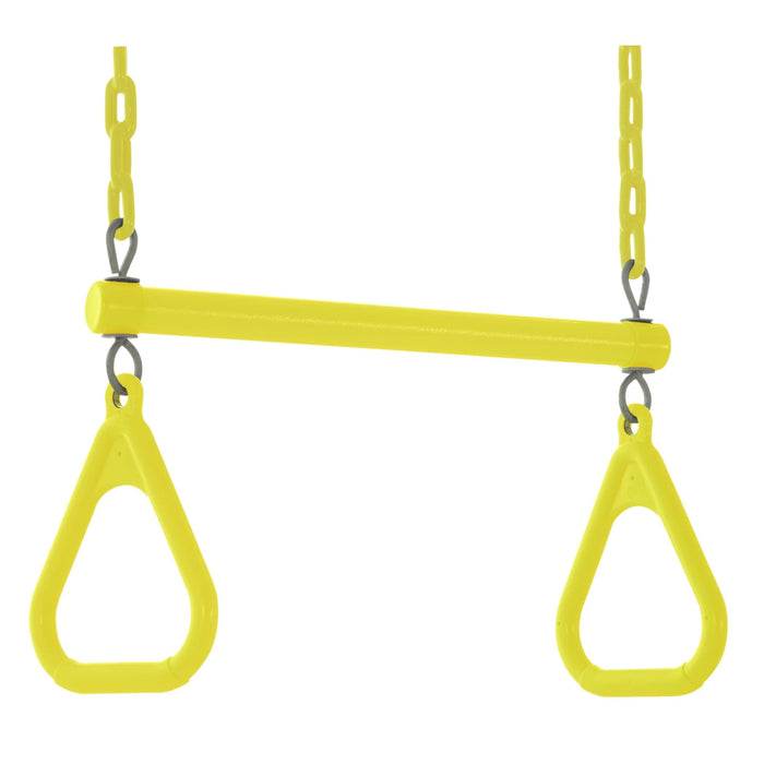 Swingan - Trapeze Swing Bar - Yellow - Swtsc-Yl - Swings & Accessories