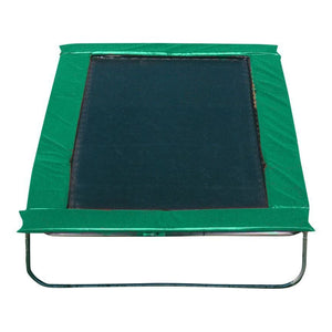 Texas Trampoline 8 x 13 ft Kids Delight - Blue / Green / Red - green - Rectangle Trampolines