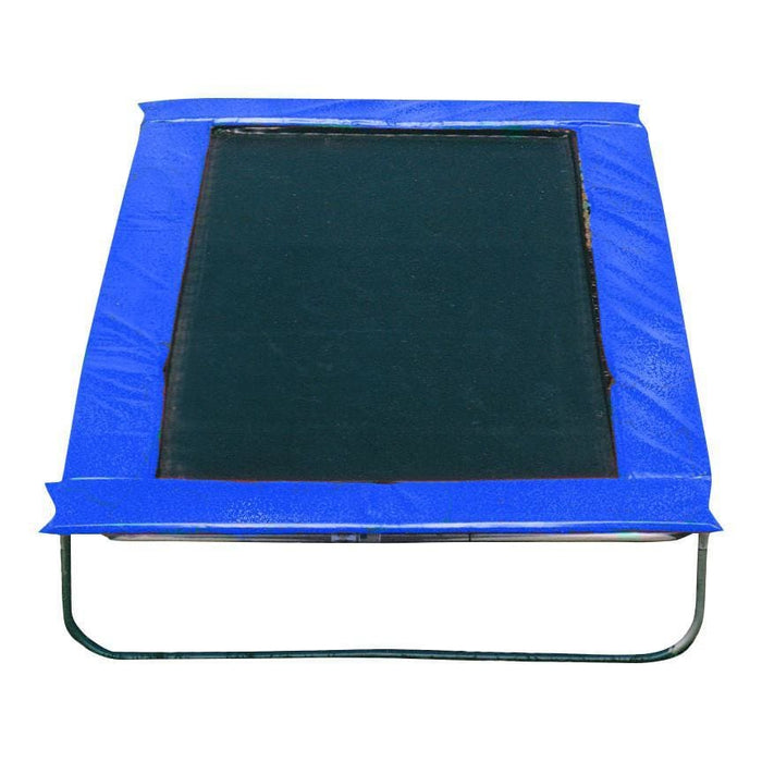 Texas Trampoline 8 x 13 ft Kids Delight - Blue / Green / Red - blue - Rectangle Trampolines