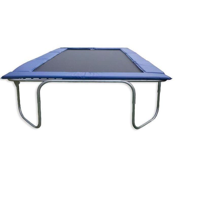 Texas Trampoline Heavy Duty Trampoline 10 x 17 ft Texas Star Blue / Green / Red - blue - Rectangle Trampolines