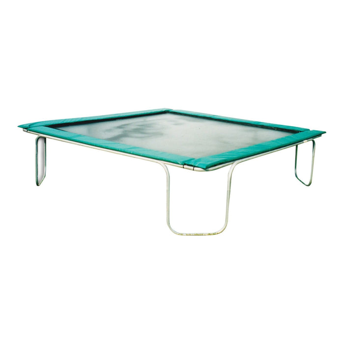 Texas Trampoline Heavy Duty Trampoline 13 x 13 ft Texas Square - Blue / Green / Red - green - Square Trampolines