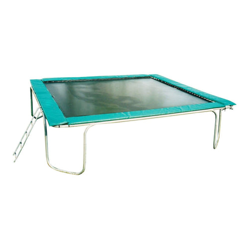 Texas Trampoline Heavy Duty Rectangle Trampoline 15 x 17 ft Texas Extreme - green - Rectangle Trampolines