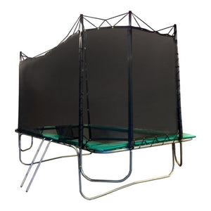 Texas Trampoline Heavy Duty Rectangle Trampoline 9 x 15 ft Texas Standard w/ Enclosure - Rectangle Trampolines
