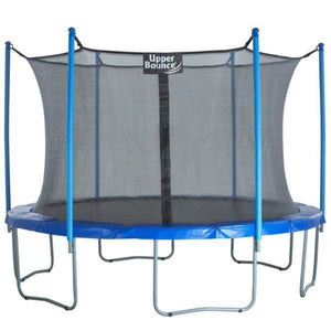 Upper Bounce 12 ft Trampoline & Enclosure Set - UBSF01-12 - Round Trampolines