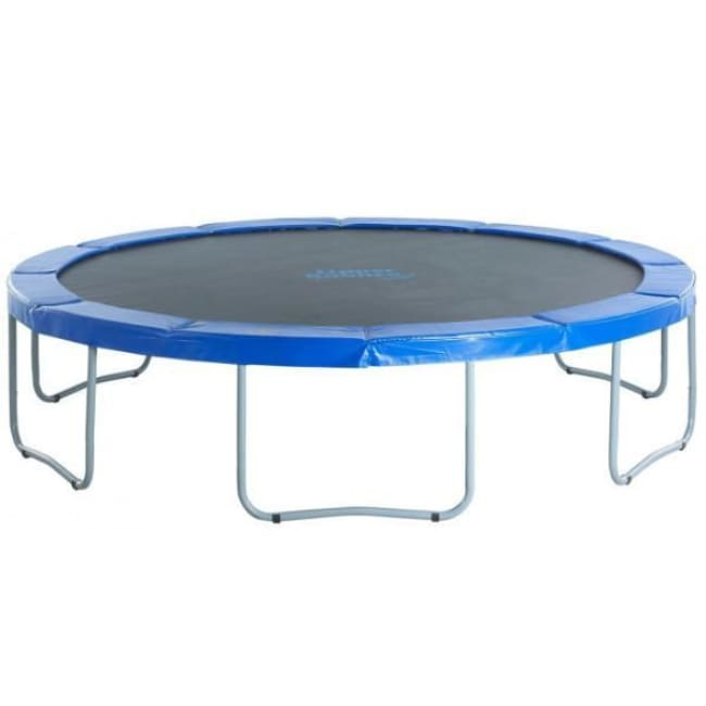 Upper Bounce 14 Ft Round Trampoline With Blue Safety Pad - Ubt01-14 - Trampolines
