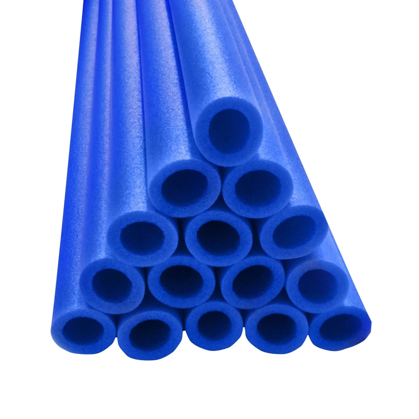 Upper Bounce 33 Inch Trampoline Pole Foam Sleeves Fits For 1 Diameter Pole - Set Of 12 -Blue - Trampoline Replacements