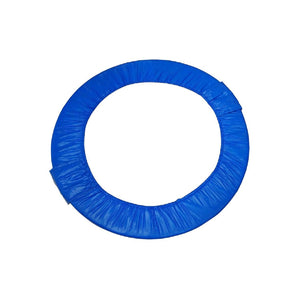 Upper Bounce 38 Mini Round Foldable Replacement Trampoline Safety Pad (Spring Cover) For 6 Legs - Blue - Trampoline Replacements