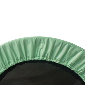 Upper Bounce 38 Mini Round Trampoline Replacement Safety Pad (Spring Cover) For 6 Legs - Green - Trampoline Replacements