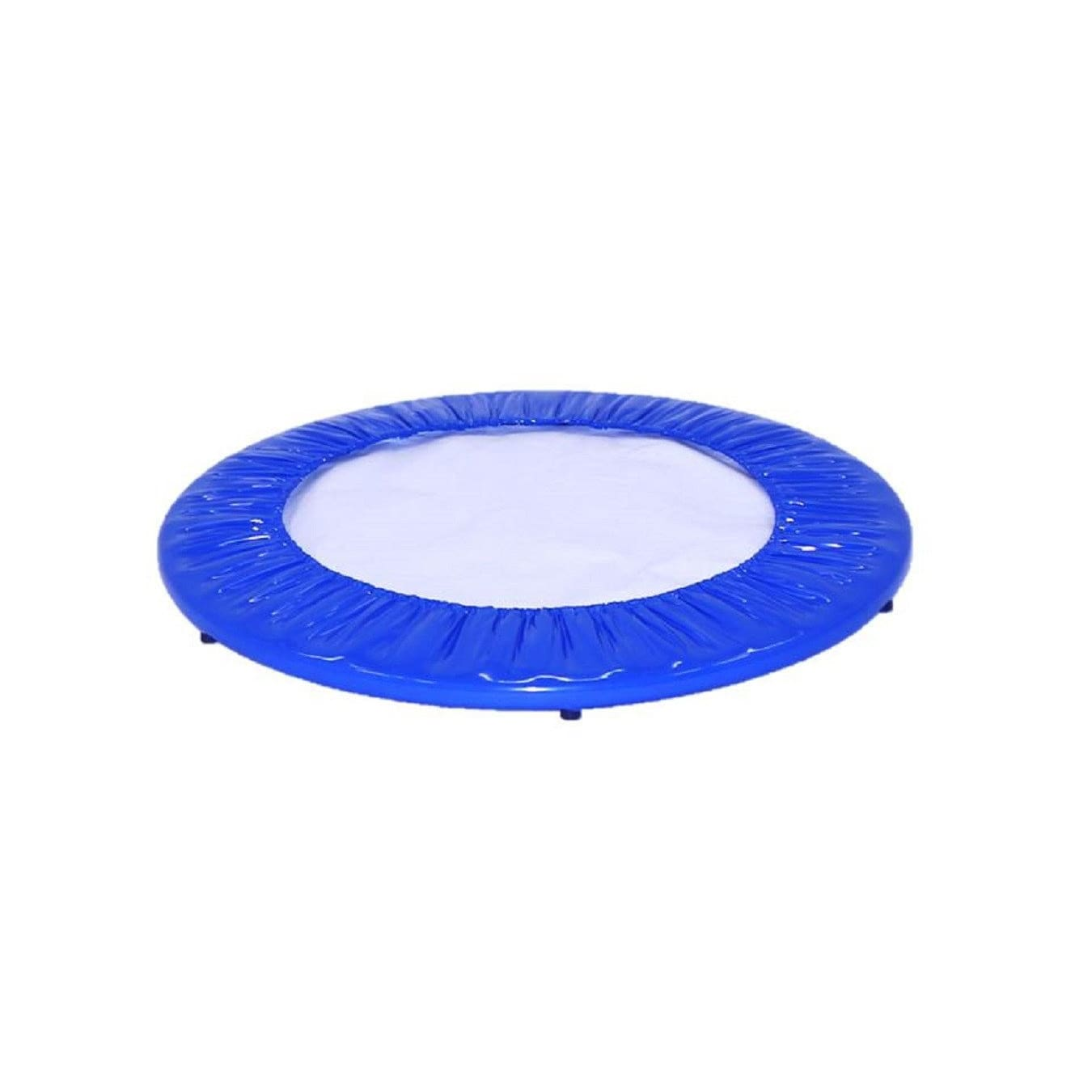 Upper Bounce 38 Mini Round Trampoline Replacement Safety Pad Red Spring Cover for 6 Legs