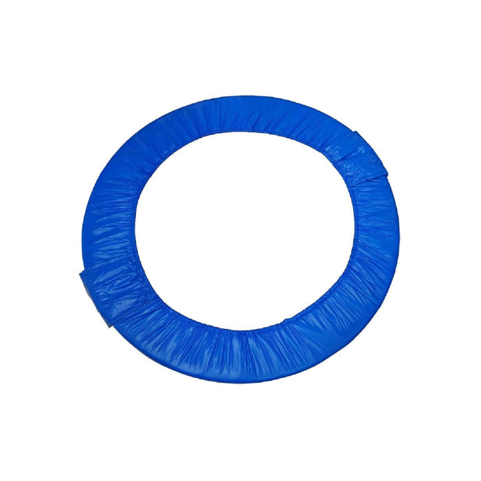 Upper Bounce 48 Mini Round Foldable Replacement Trampoline Safety Pad (Spring Cover) For 8 Legs - Blue - Trampoline Replacements