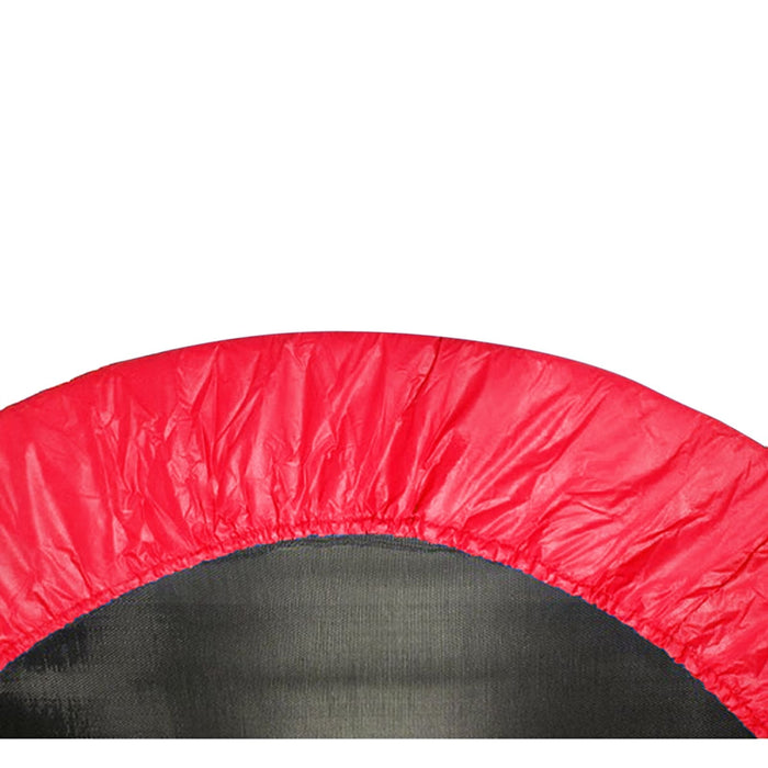 Upper Bounce 48 Mini Round Trampoline Replacement Safety Pad (Spring Cover) For 8 Legs - Red - Trampoline Replacements