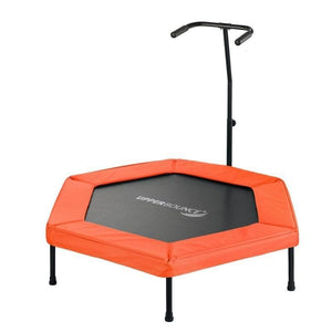 Upper Bounce 50 Hexagonal Fitness Mini-Trampoline - SK-HX50 - Fitness Trampoline