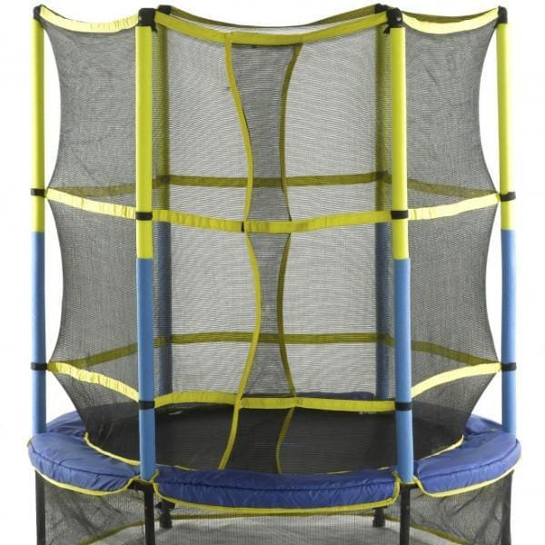 Upper Bounce 55 Kid-Friendly Trampoline & Enclosure Set - UBSF01-55 - Mini Trampolines