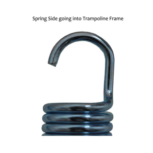 Upper Bounce 6.5 Trampoline Springs Heavy-Duty Galvanized Set Of 15 - Trampoline Replacements