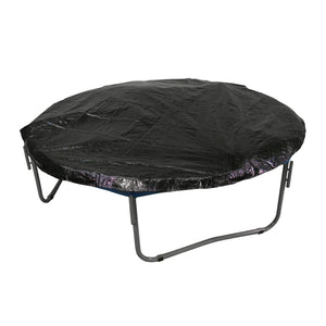 Upper Bounce Economy Trampoline Weather Protection Cover Fits For 12 Ft. Round Frames - Black - Trampoline Accessories