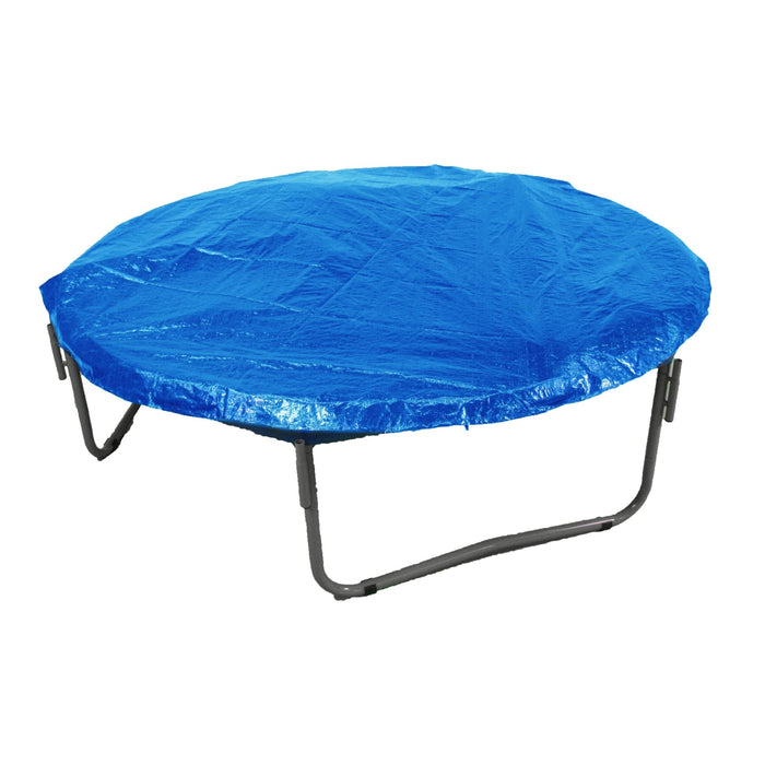 Upper Bounce Economy Trampoline Weather Protection Cover Fits For 12 Ft. Round Frames - Blue - Trampoline Accessories