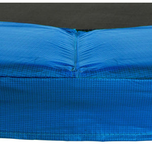 Upper Bounce Super Trampoline Replacement Safety Pad (Spring Cover) Fits For 11 Ft. Round Frames - Blue - Trampoline Replacements