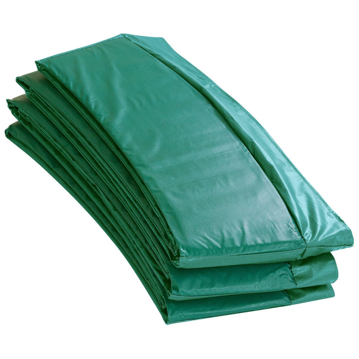 Upper Bounce Super Trampoline Replacement Safety Pad (Spring Cover) Fits For 12 Ft. Round Frames - Green - Trampoline Replacements