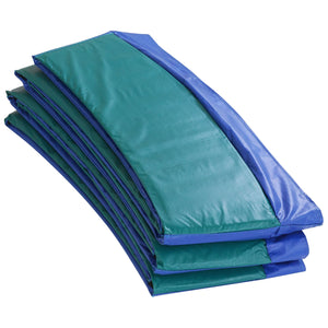 Upper Bounce Super Trampoline Replacement Safety Pad (Spring Cover) Fits For 14 Ft. Round Frames - Blue/Green - Trampoline Replacements