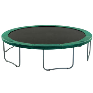 Upper Bounce Super Trampoline Replacement Safety Pad (Spring Cover) Fits For 14 Ft. Round Frames - Green - Trampoline Replacements