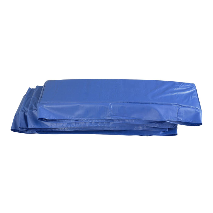 Upper Bounce Super Trampoline Replacement Safety Pad (Spring Cover) Fits For 8 X 14 Ft Rectangular Frames - Blue - Trampoline Replacements