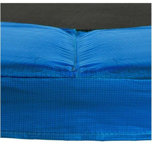 Upper Bounce Super Trampoline Safety Pad (Spring Cover) Fits For 17 X 15 Ft. Oval Frames - Blue - Trampoline Replacements