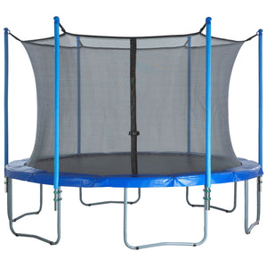 Upper Bounce Trampoline Enclosure Set Fits 16 Ft. Round Frames For 3 Or 6 W-Shaped Legs - Trampoline Replacements