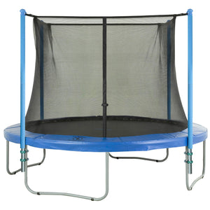 Upper Bounce Trampoline Enclosure Set To Fit 10 Ft. Round Frames For 2 Or 4 W-Shaped Legs - Trampoline Replacements