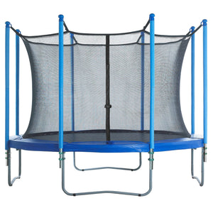 Upper Bounce Trampoline Enclosure Set To Fit 12 Ft. Round Frames For 4 Or 8 W-Shaped Legs - Trampoline Replacements