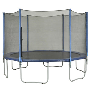 Upper Bounce Trampoline Enclosure Set To Fit 13 Ft. Round Frames For 3 Or 6 W-Shaped Legs - Trampoline Replacements