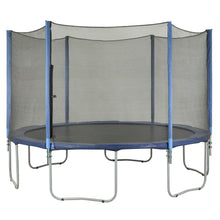 Upper Bounce Trampoline Enclosure Set To Fit 15 Ft. Round Frames For 3 Or 6 W-Shaped Legs - Trampoline Replacements