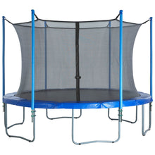 Upper Bounce Trampoline Enclosure Set To Fit 8 Ft. Round Frames For 3 Or 6 W-Shaped Legs - Trampoline Replacements