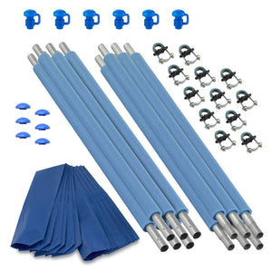 Upper Bounce Trampoline Replacement Enclosure Poles & Hardware Set Of 6 (Net Sold Separately) - Trampoline Replacements