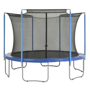 Upper Bounce Trampoline Replacement Enclosure Safety Net Fits For 11 Ft. Round Frames - Trampoline Replacements
