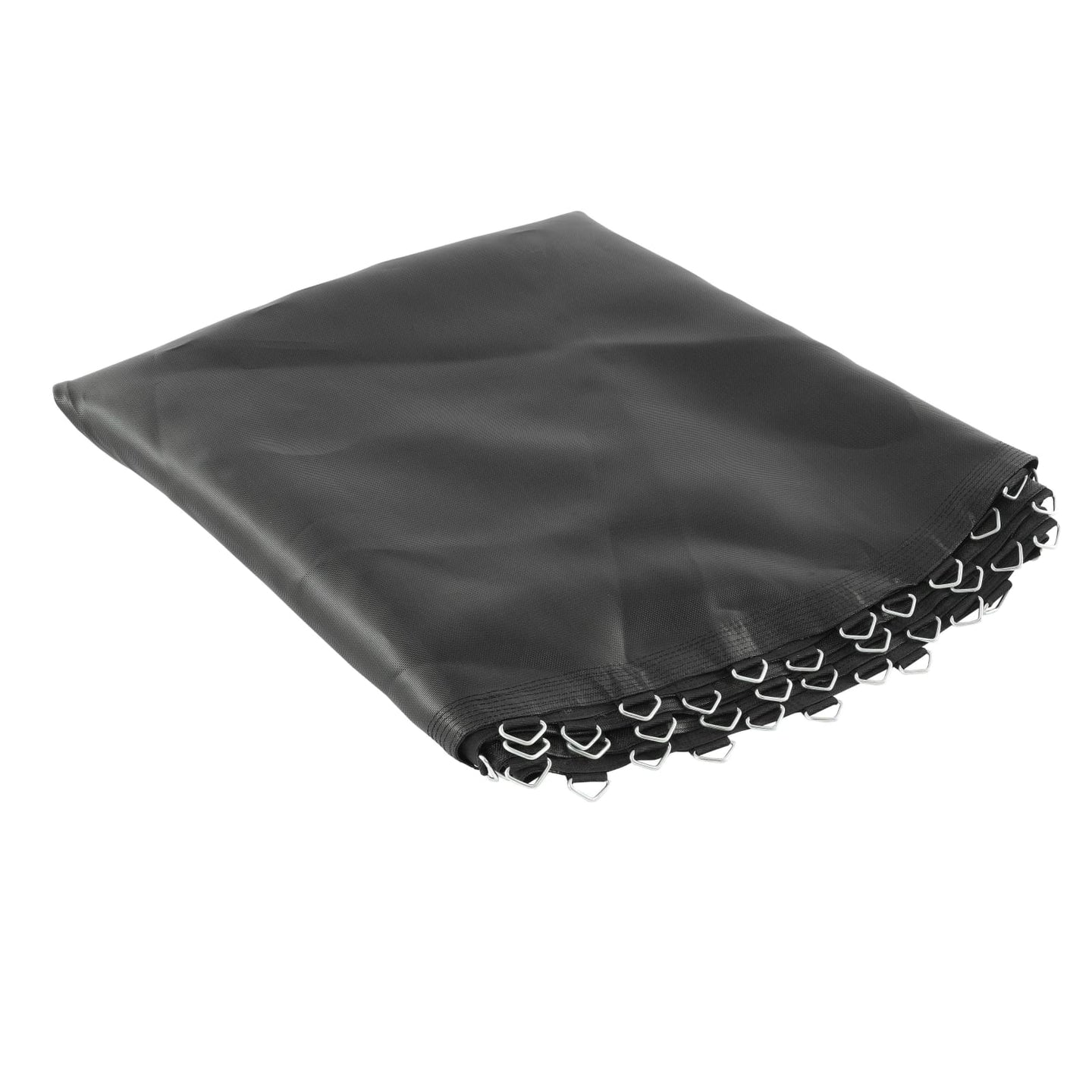 Upper Bounce Trampoline Replacement Jumping Mat Fits For 8 Ft. Round Frames W/ 40 V-Rings 5.5 Springs - Trampoline Replacements