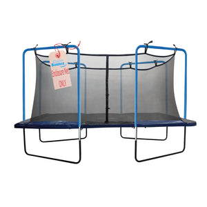 Upper Bounce Trampoline Replacement Safety Net Fits For 13 X 13 Square Frames - Trampoline Replacements
